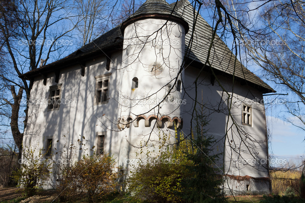 Fortified manor house in yezhov built towards the end of for Fortified house plans