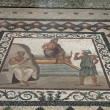 Stock Photo: Excellent mosaic presenting arrival of Aesculapius at Kos.