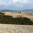 Cappella di Vitaleta , Val d'Orcia in Tuscany — Stock Photo