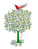 Partridge in a Pear Tree — Stock Photo