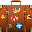 Suitcase — Vector de stock #6937002