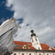 Statue in Maribor — Stock Photo