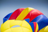 Colorful parachute — Stock Photo