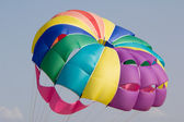 Colorful parachute — 图库照片