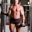 Bodybuilder training — Foto de Stock