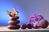 Směsice uspořádány styl zen — Stock fotografie