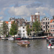 Amsterdam canal — Stock Photo #7239747