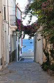 Street in Cadaques — Stock Photo
