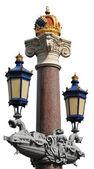 Old street lamp — Stock Photo