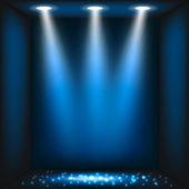 Streszczenie ciemnym niebieskim tle — Wektor stockowy