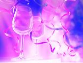Champagne in glasses — Stock Photo