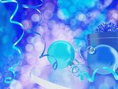 Blue toned beautiful scene — Stock Photo