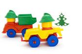 Bright toy cars — Stock Photo