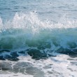 Foamy big blue waves — Stock Photo #6994486