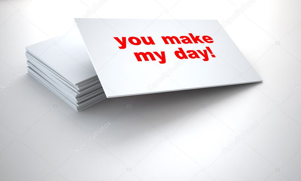 Cardboard tablets with sign on a white background  Stock Photo #7151997