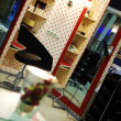 Interior of luxury modern hairdressing salon — Stock Photo