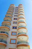 High modern residential building — Stok fotoğraf