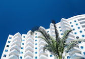White residential building — Stock Photo