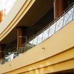 Rounded balconies — Stock Photo