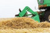 Green combine — Stock Photo