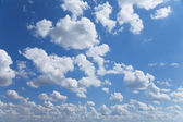The Blue Sky and Clouds — Stock Photo