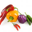 Pepper bitter and sweet multi-colored — Stock Photo #7656064