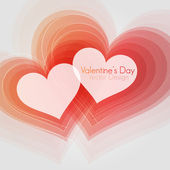 EPS10 Abstract Valentine's Day Vector Design — Vector de stock