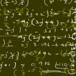 Mathematical background — Stock Photo