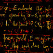 Mathematical background — Stockfoto #6857584
