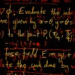 图库照片: Mathematical background