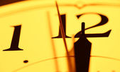时钟 — 图库照片