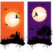 Halloween banner — Stock Vector #6754324