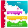Colorful bubble for speech - Imagen vectorial