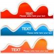Colorful bubble for speech — Imagens vectoriais em stock