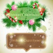 Colorful bubbles for speech. Christmas design — Stockvectorbeeld