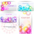 Modern Business-Card Set - Stock Vector