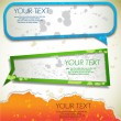 Colorful bubbles for speech — Vector de stock #7402235