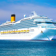 Cruise liner - Foto Stock