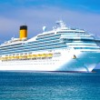 Cruise liner - Stockfoto