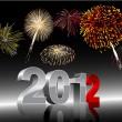 nytt år 2012 — Stockfoto