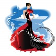 Flamenco - Stock Vector