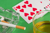 Gambling still life — Stock Photo