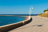 Beach promenade — Stock Photo
