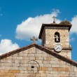 Stock Photo: Medieval church pediment