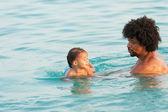 Clase de natación — Foto de Stock