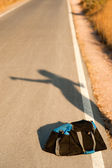 Hitchhiker abstract — Stock Photo