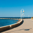 Beach promenade — Stock Photo