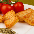 Savoury crackers — Stock Photo