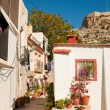 Stock Photo: Alicante old town