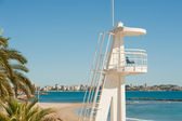 Lifeguard watchtower — Stock Photo